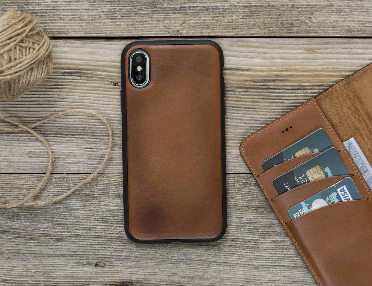 CutLine Detachable iPhone X Wallet Case