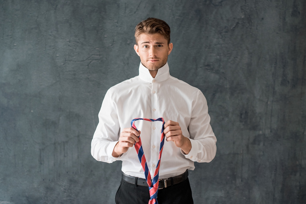 David Asch Premium Pre-Knotted Tie
