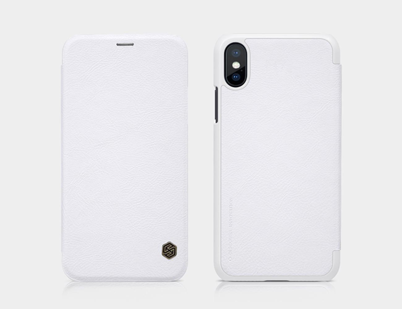 Elegant PU Leather iPhone X Case