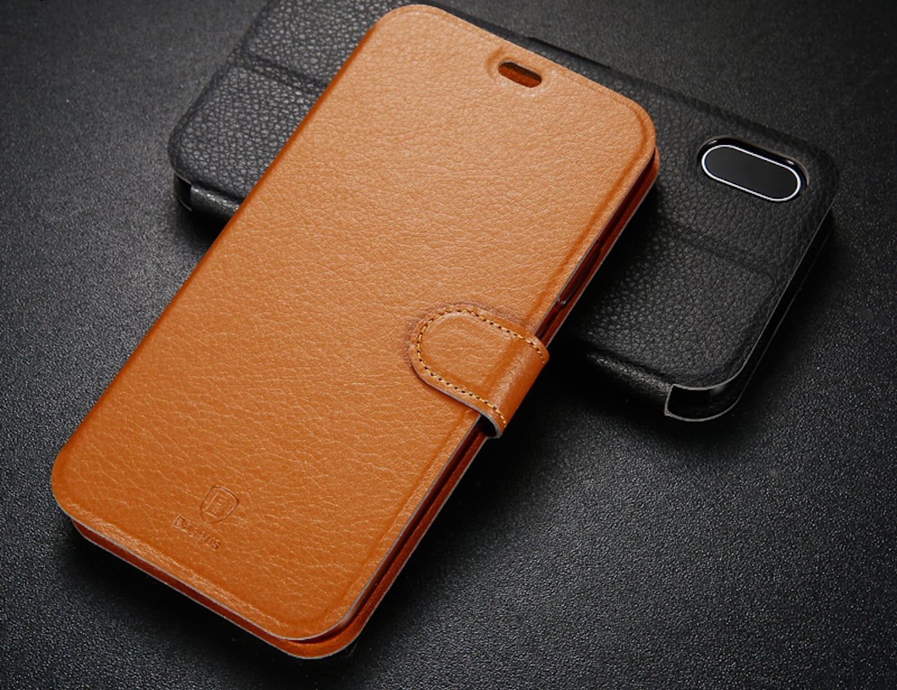 Fashionable Flip Wallet iPhone X Case