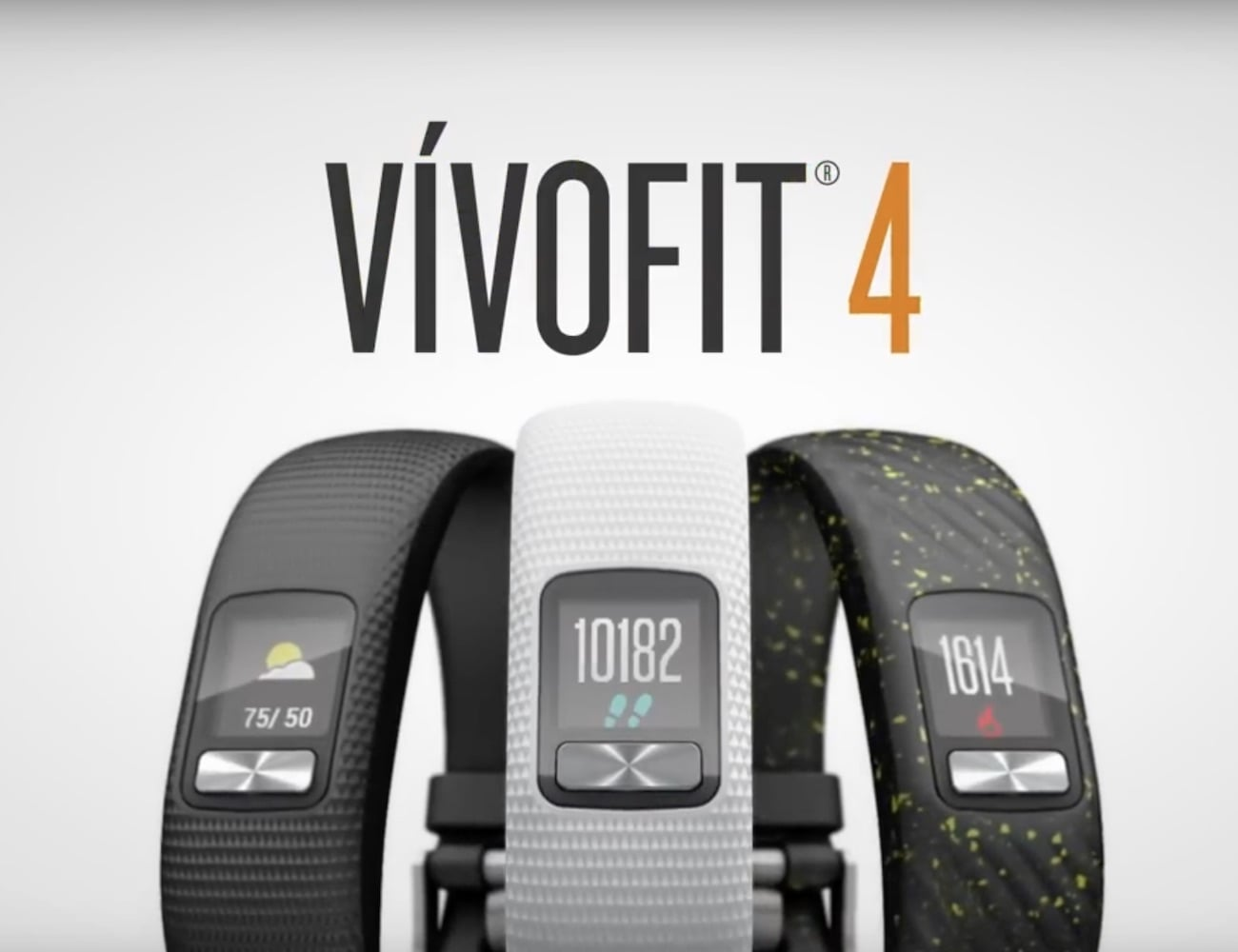 Garmin vívofit 4 Long-Lasting Activity Tracker