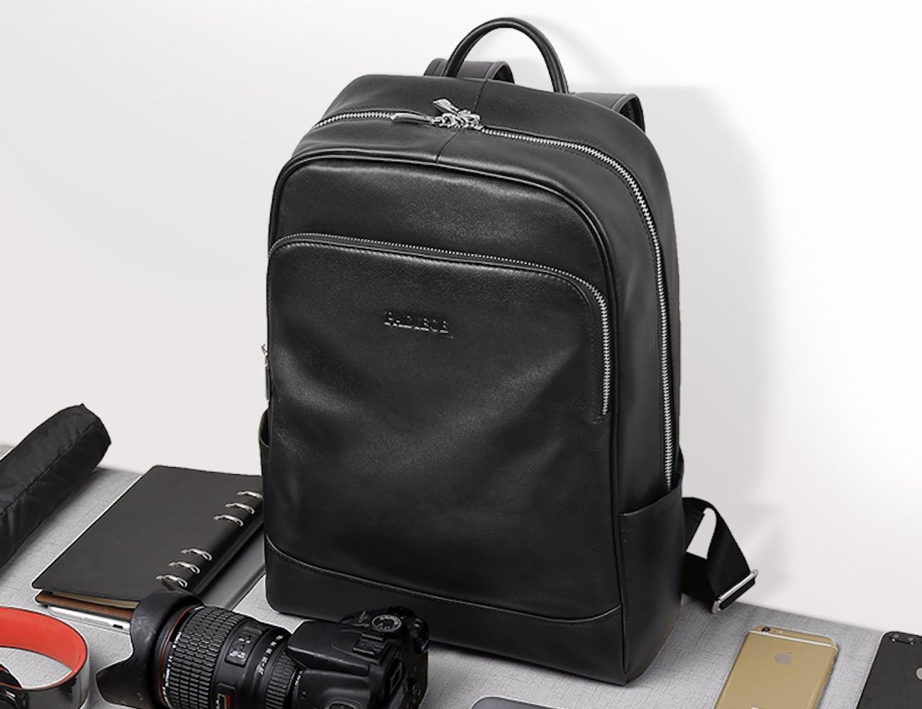 Genuine Leather Everyday Backpack