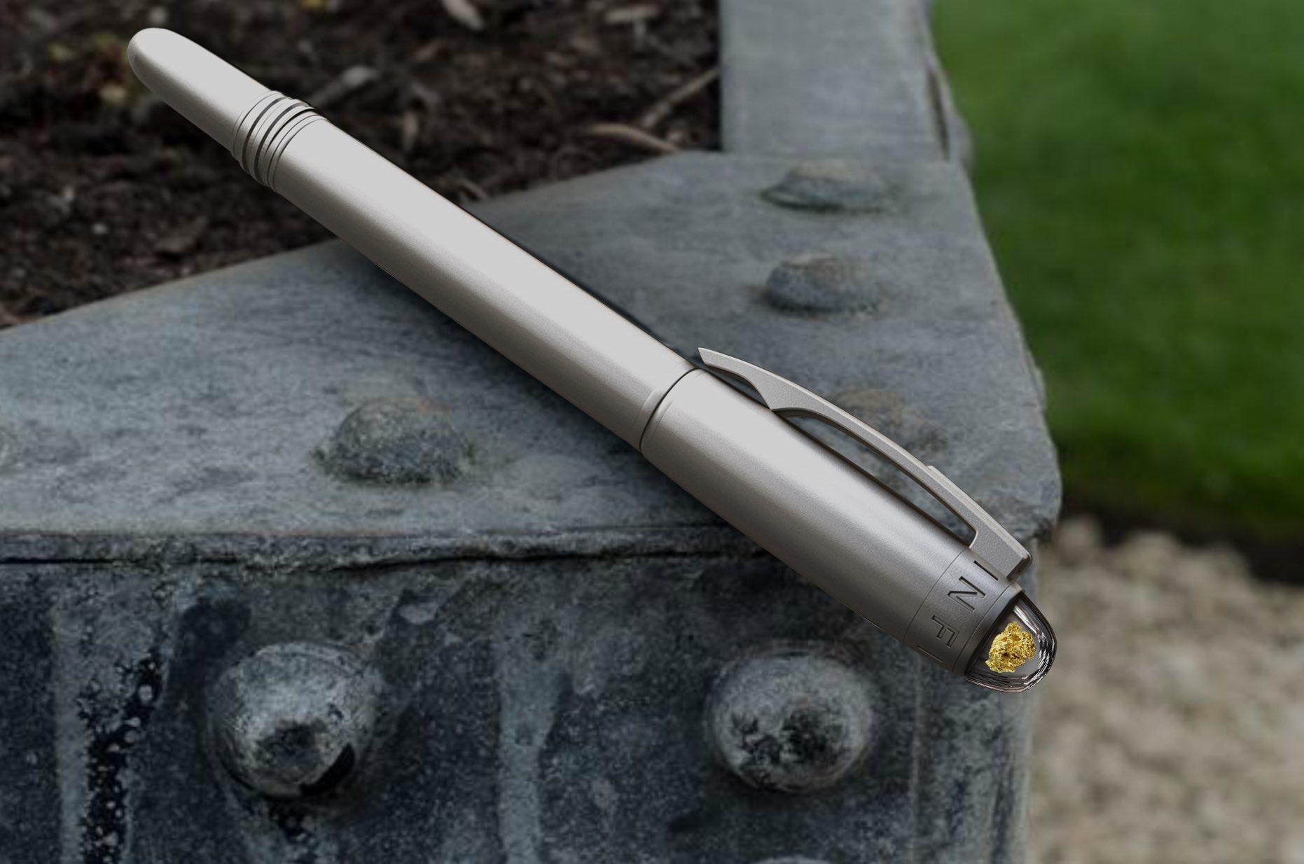 Gold Rush Gold Nugget Pen