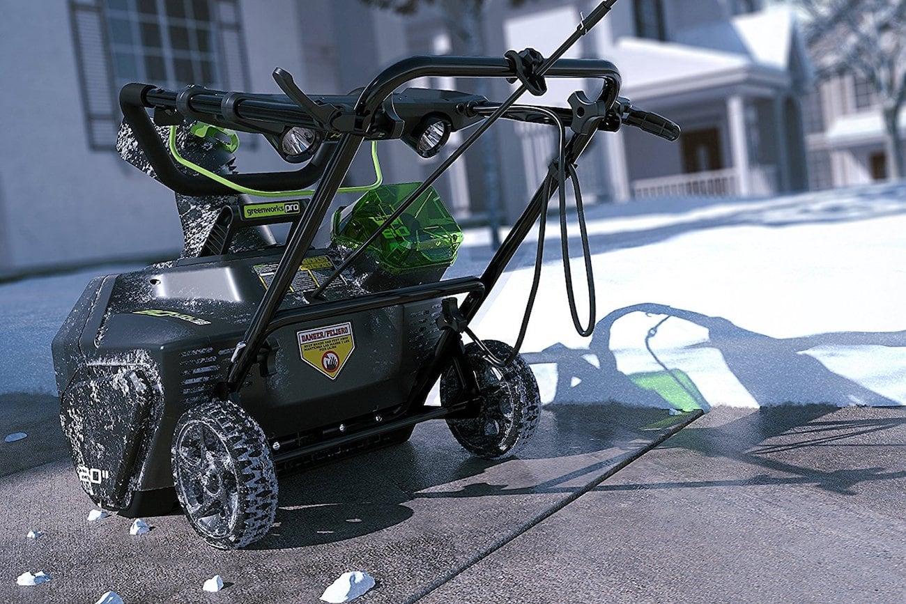 GreenWorks Pro 80V Cordless Snow Thrower