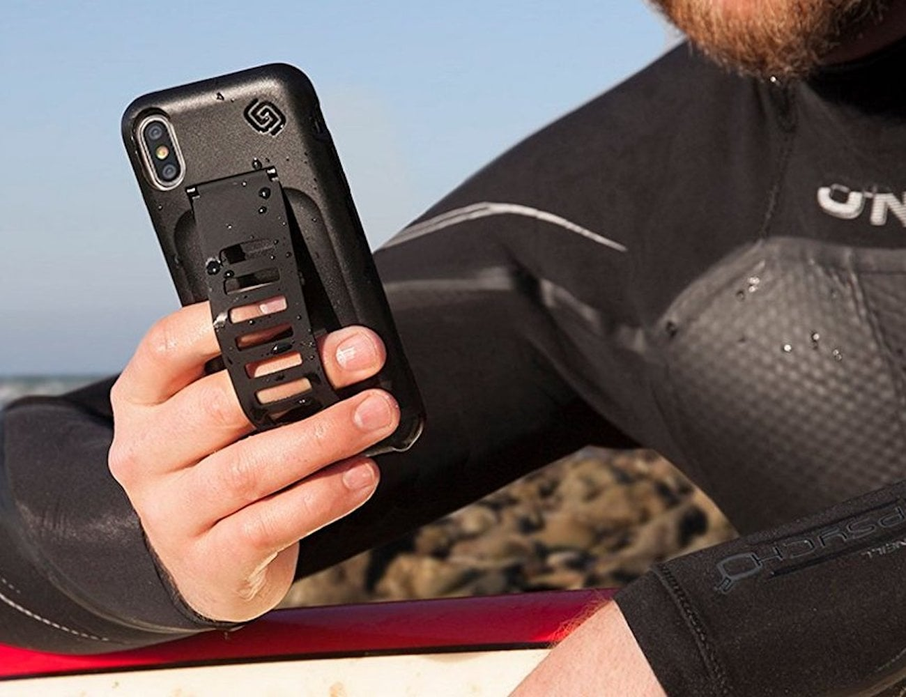 Grip2ü GettaGrip BOOST iPhone X Grip Case