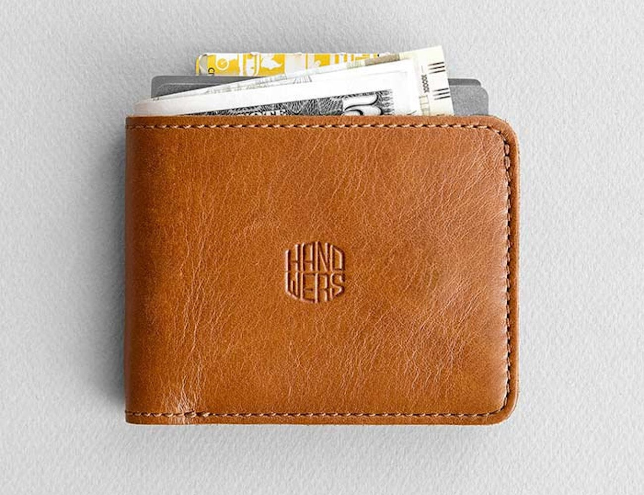 HANDWERS Compact Leather Wallet