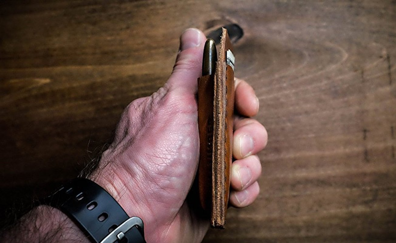 Hitch & Timber EDC Leather Card Caddy