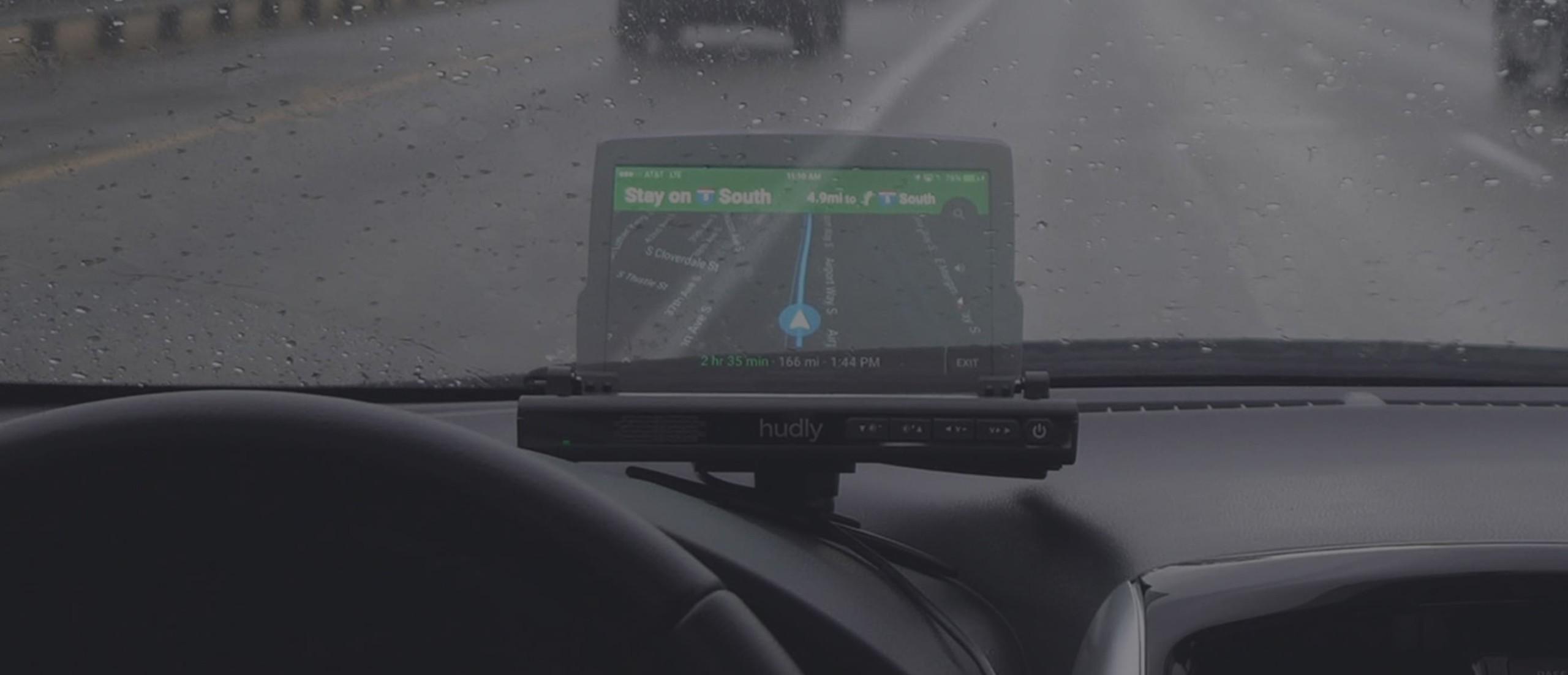 Hudly Wireless Portable Head-Up Display