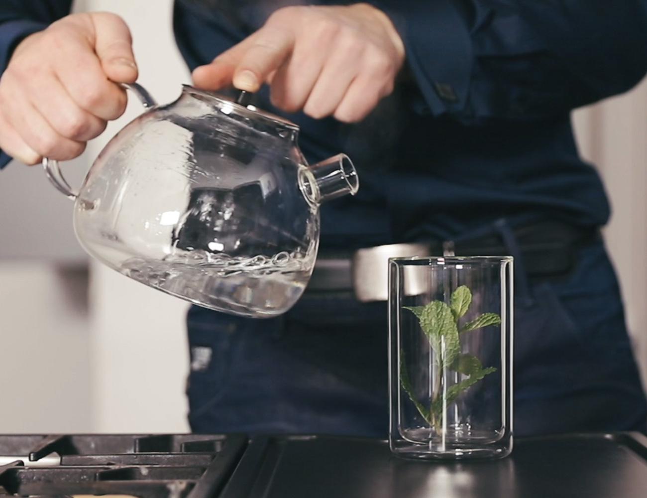 ICEGOLD Transparent Minimalist Drinking Glass