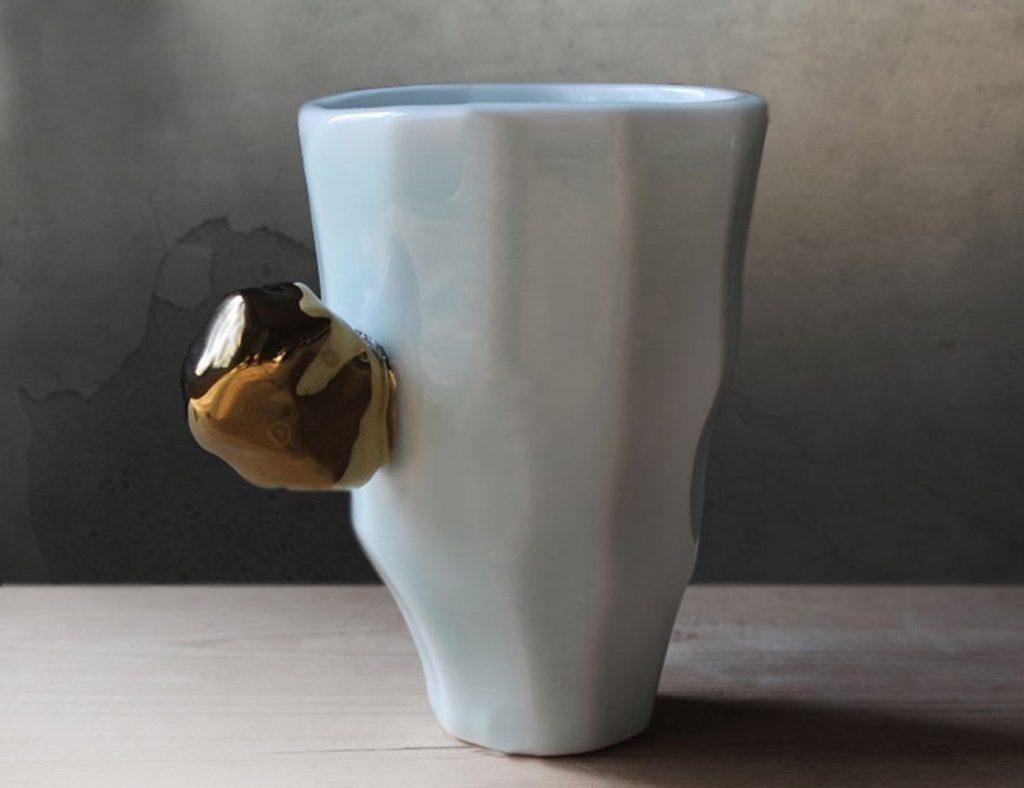 Japanese+Handmade+Faceted+Mug