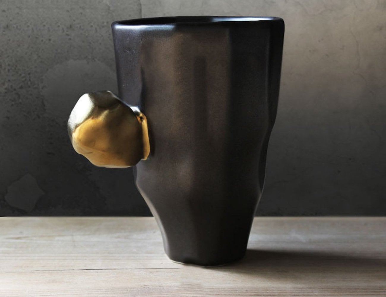 Japanese Handmade Faceted Mug