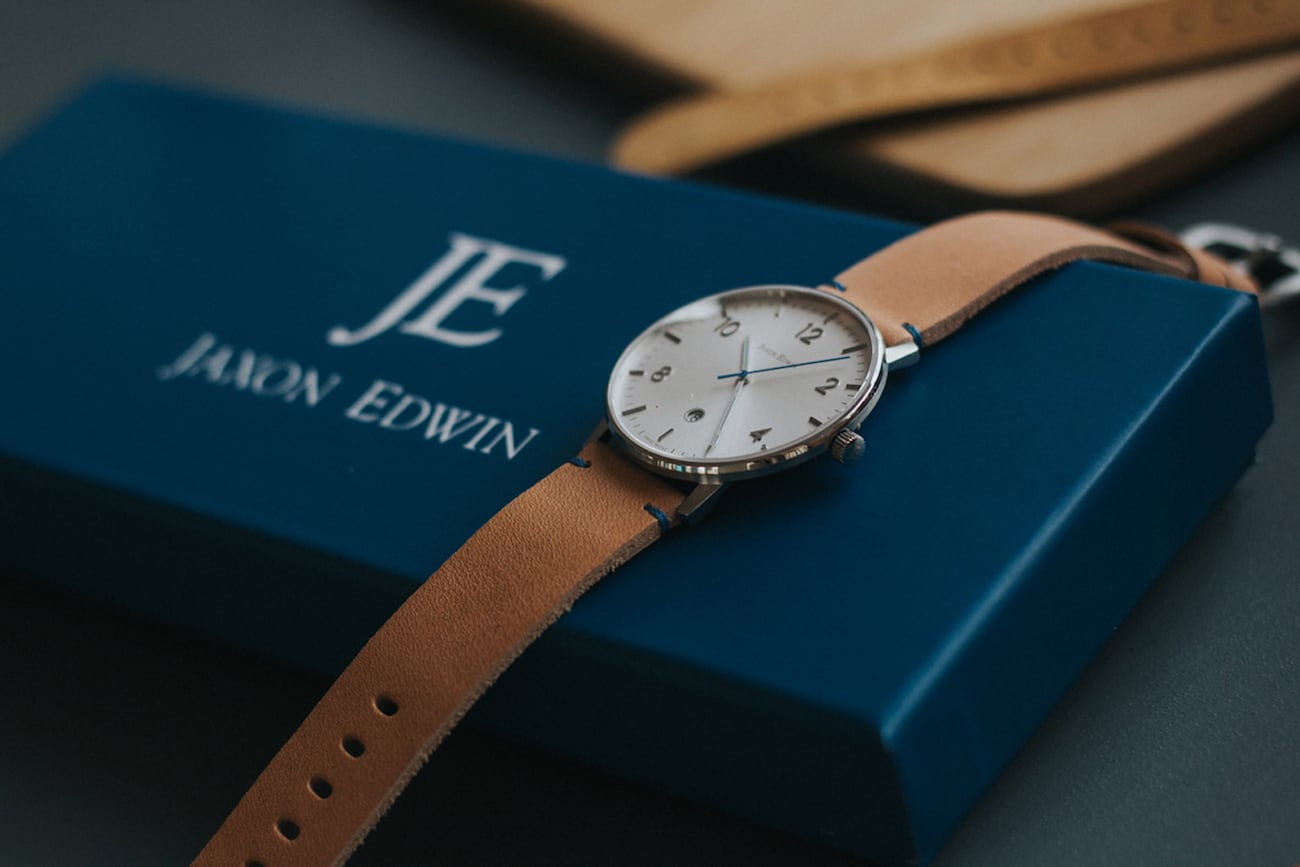 The Timeless Design of Jaxon Edwin Watches Will Make You Fall in Love