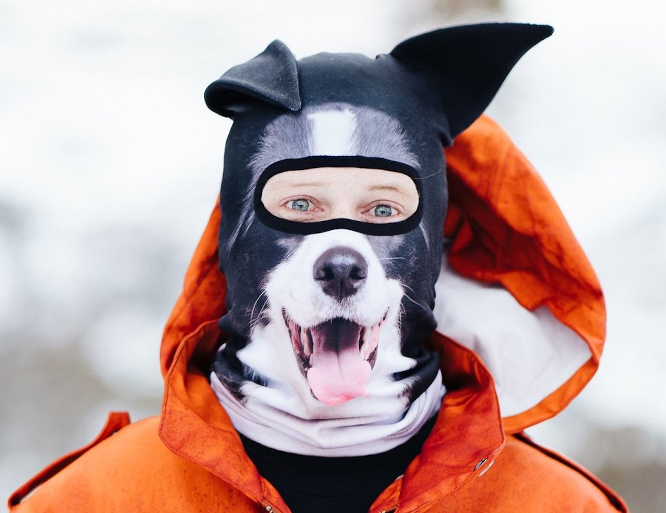 Jiusy 3D Animal Face Ski Mask