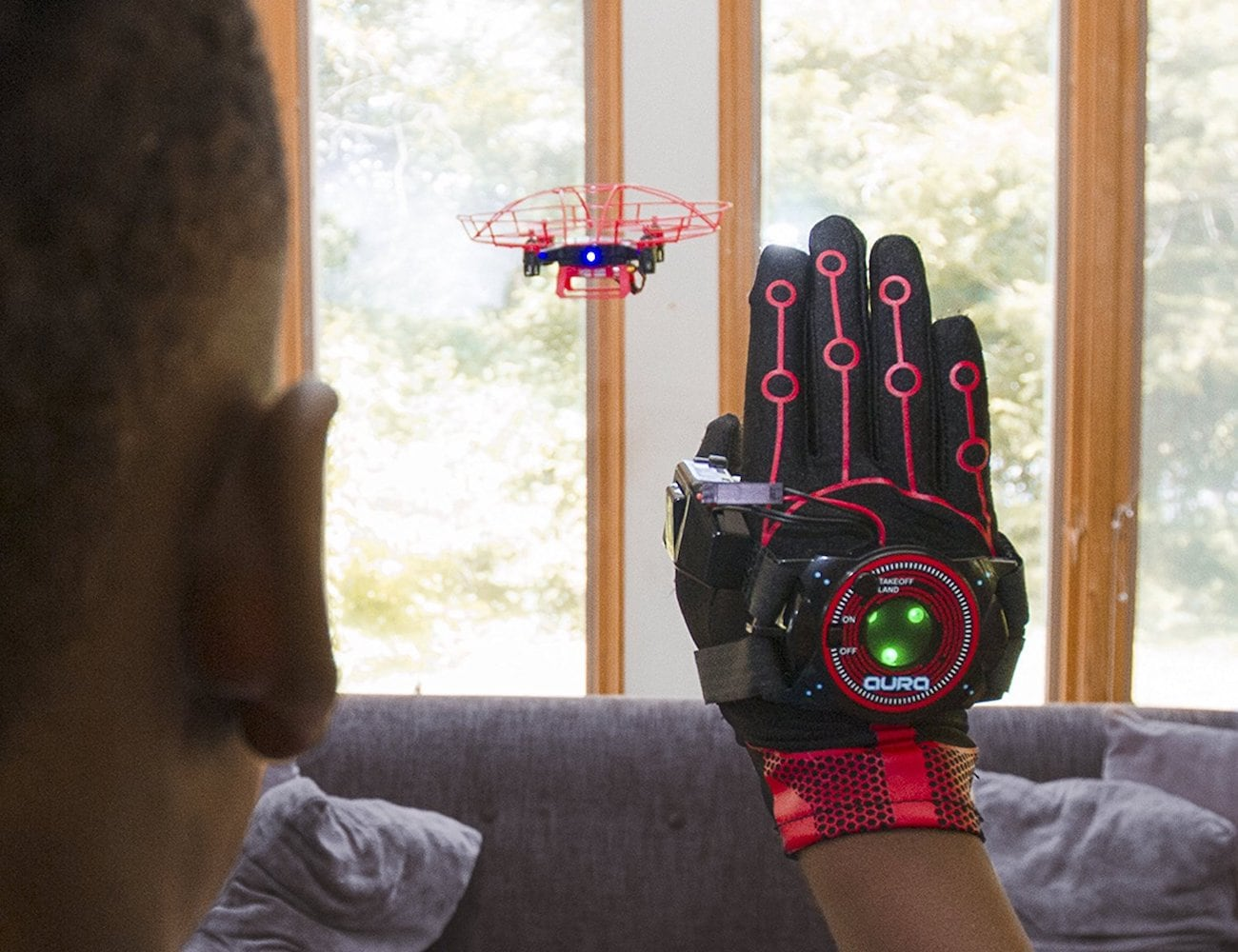 KD Aura Interactive Gesture Drone