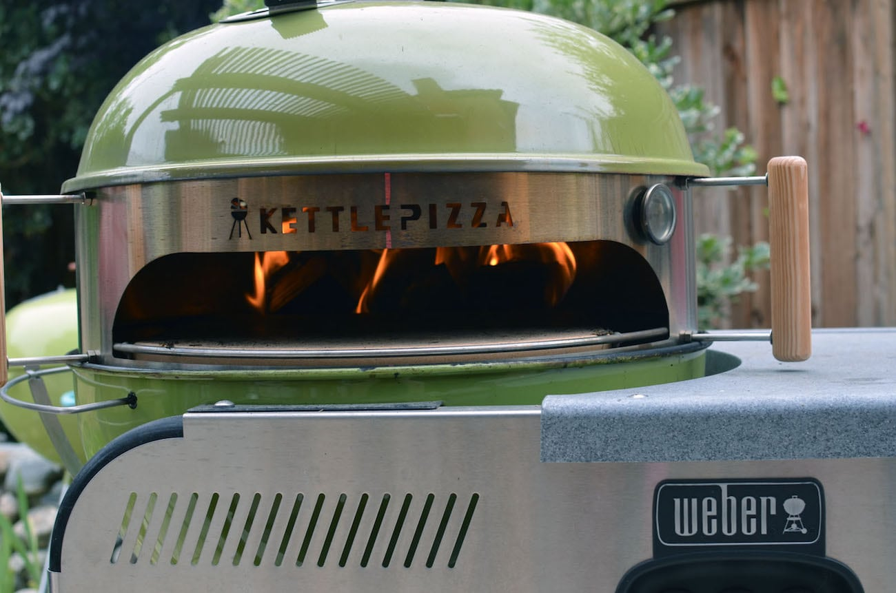 kettlepizza wood fired pizza oven kit gadget flow
