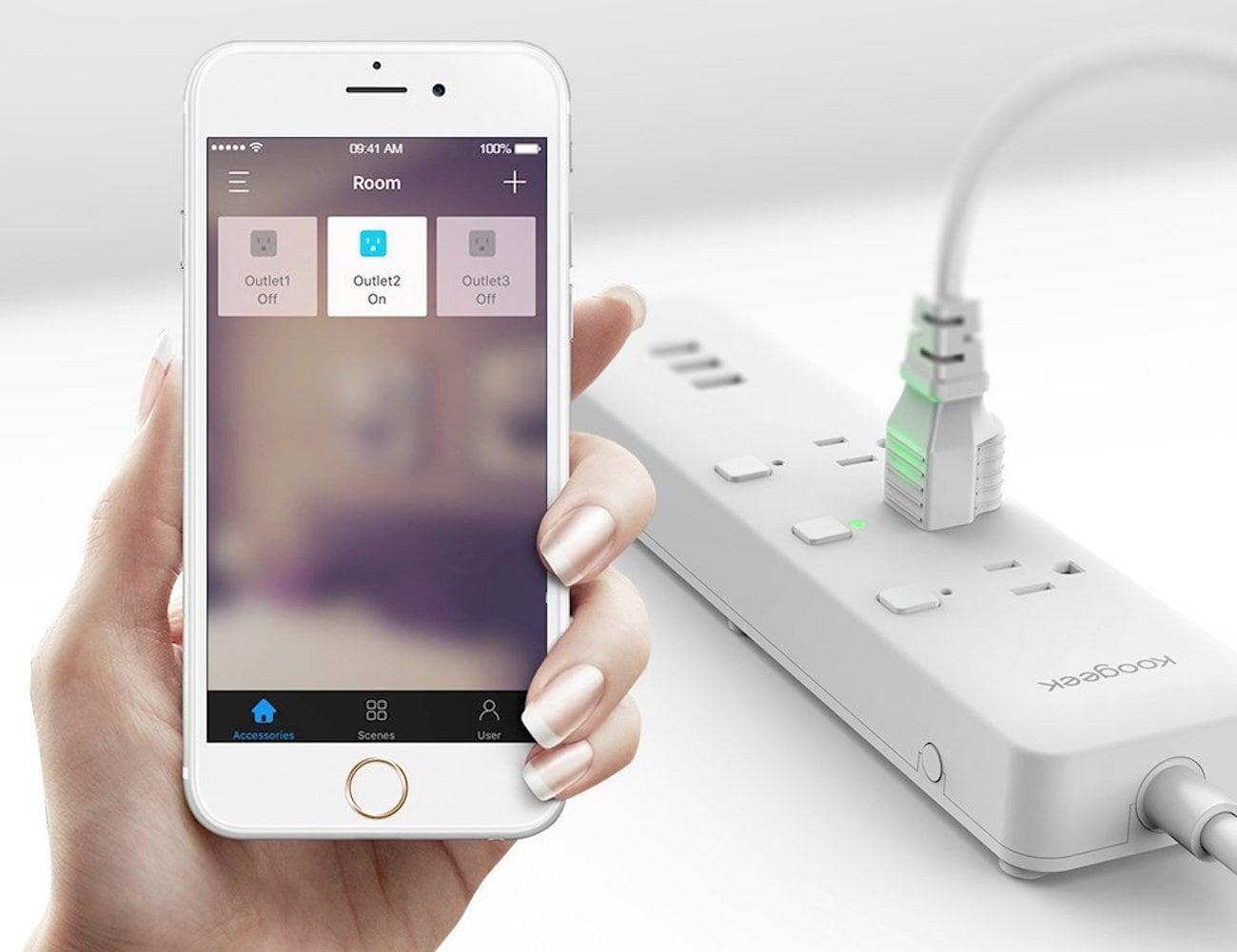 Koogeek Smart Wi-Fi Power Strip