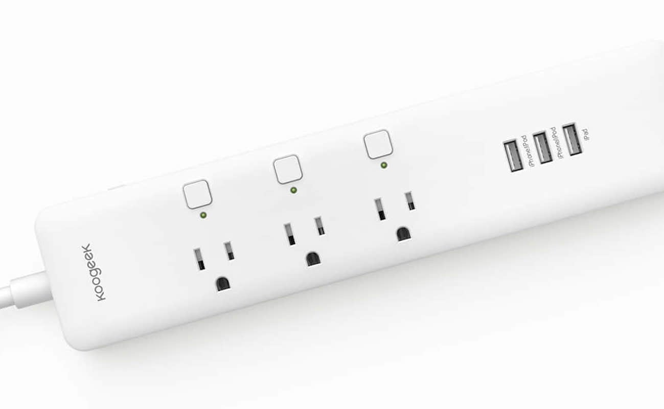Koogeek Smart Wi-Fi Power Strip