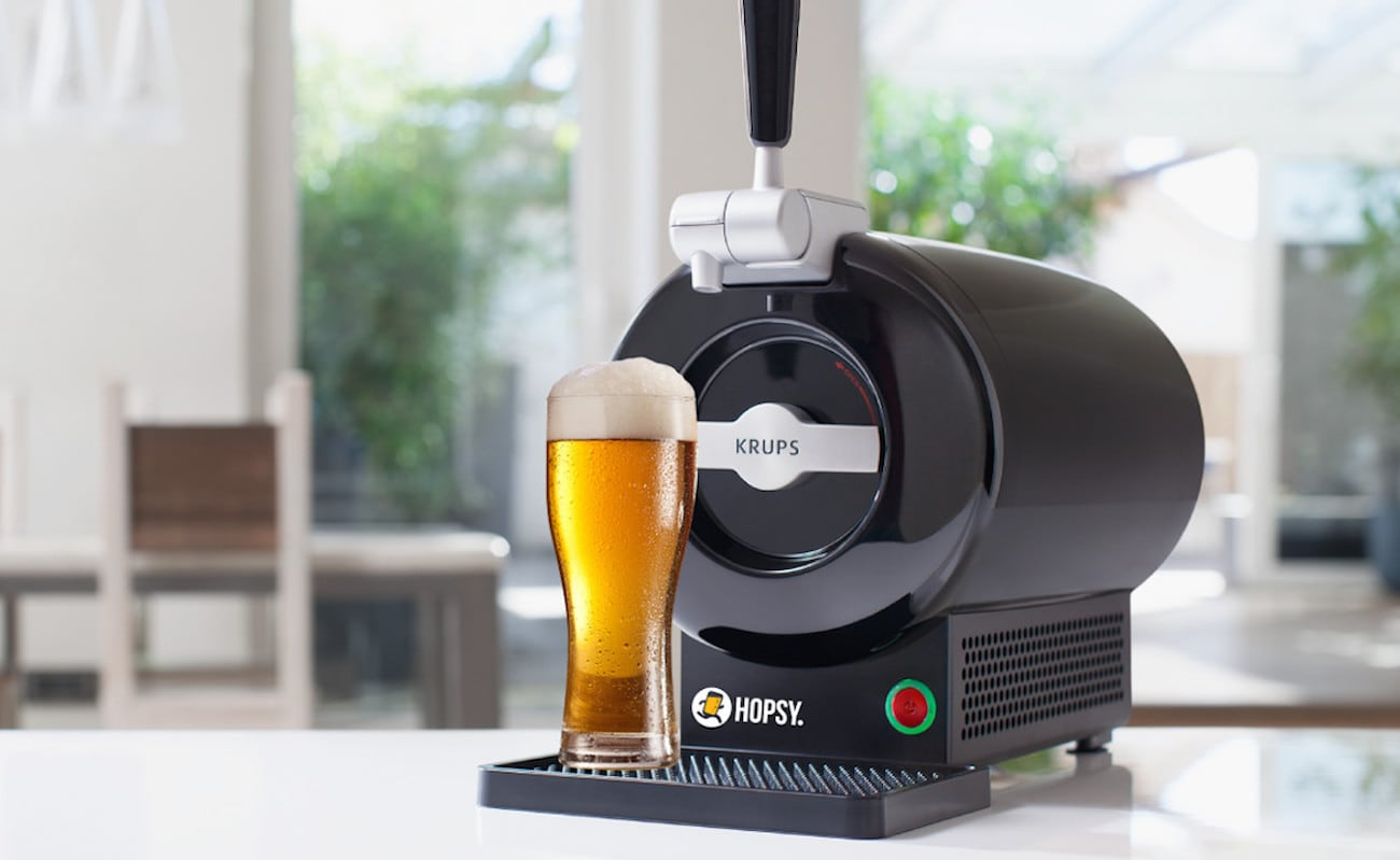 krups the sub draft beer dispenser gadget flow. Black Bedroom Furniture Sets. Home Design Ideas