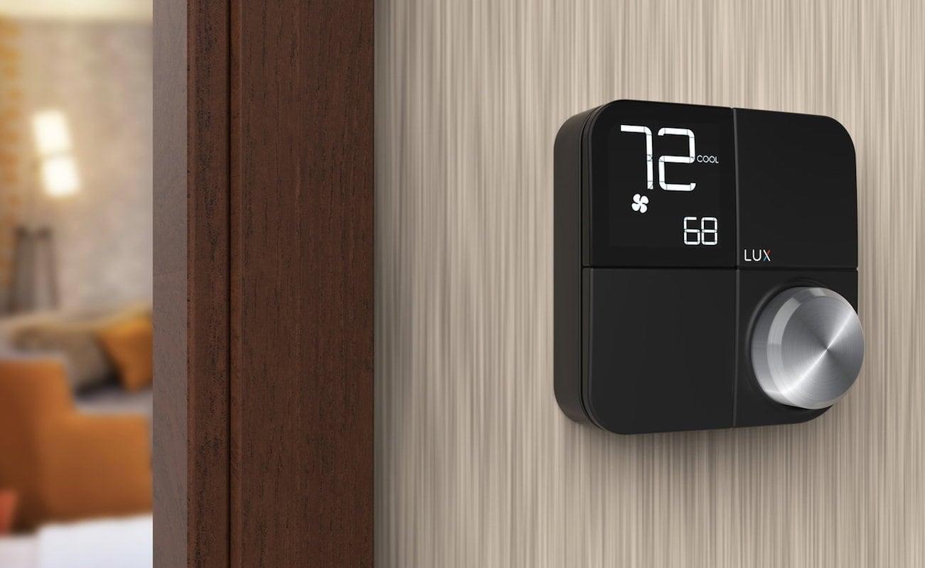 lux kono smart home thermostat gadget flow. Black Bedroom Furniture Sets. Home Design Ideas