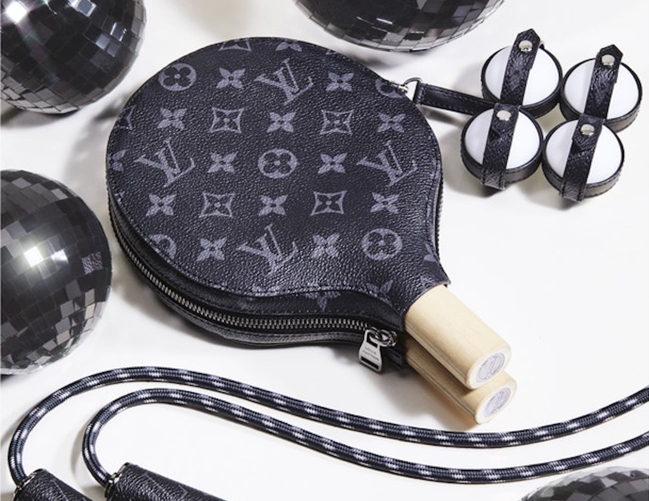 Louis Vuitton Luxury Ping Pong Set