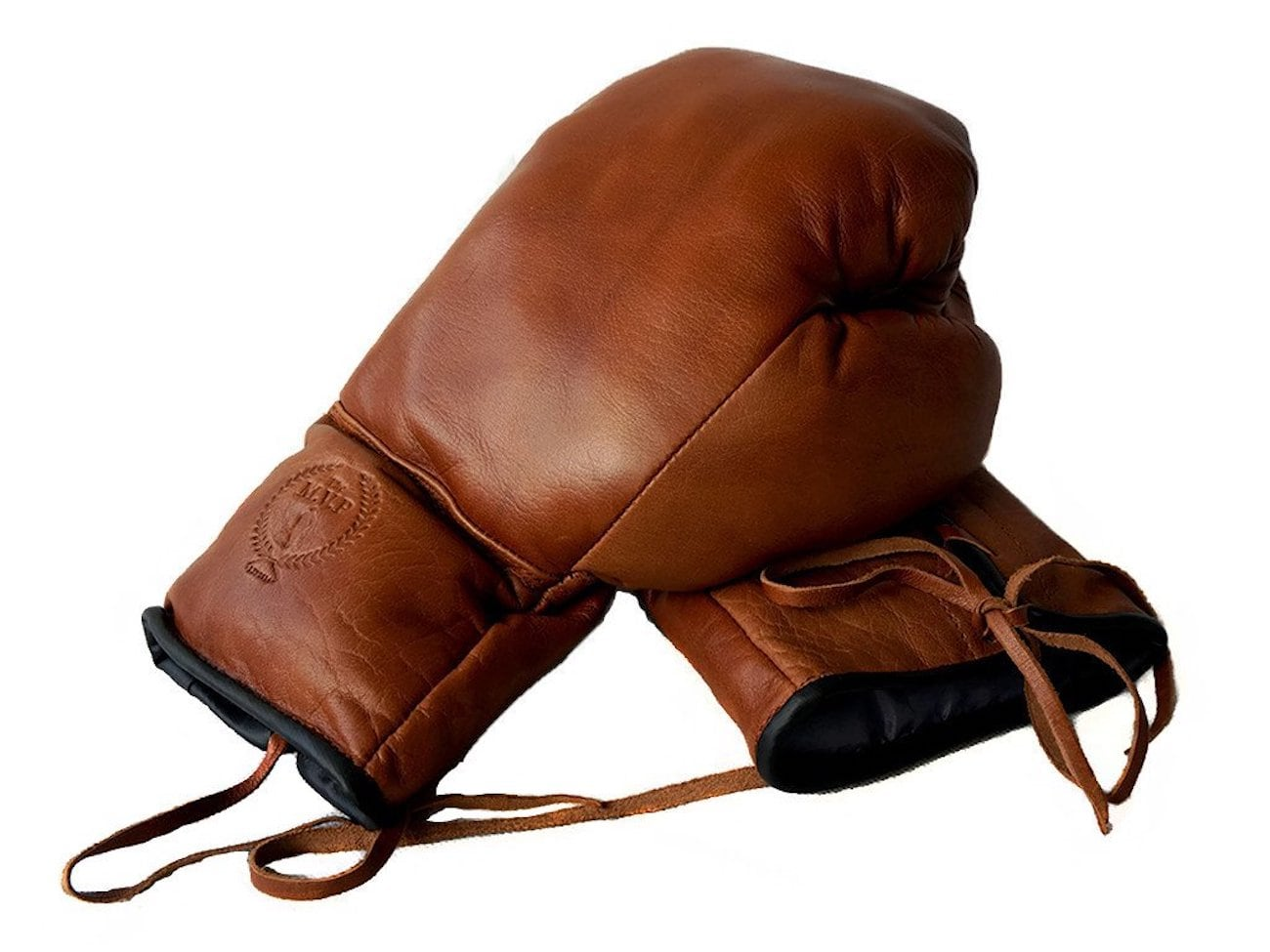 Modest Vintage Deluxe Leather Boxing Gloves