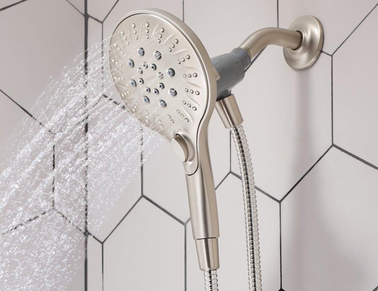 Moen Attract Magnetix Handheld Shower » Gadget Flow
