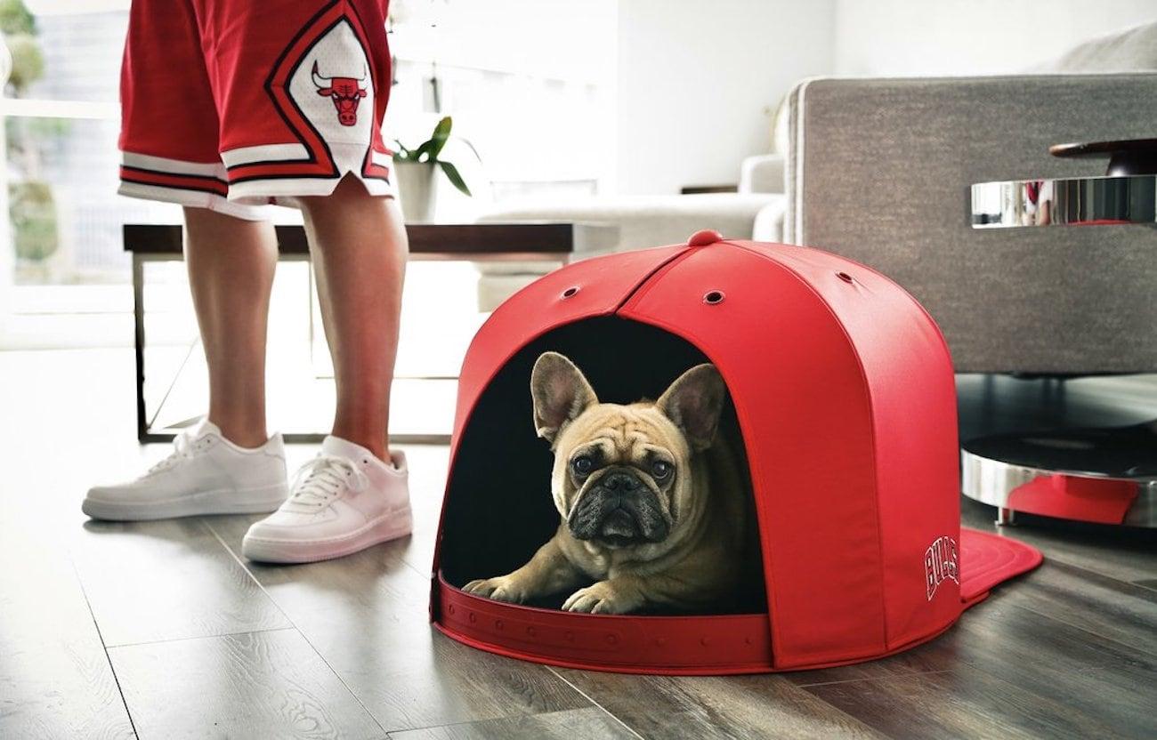 NAP CAP Oversized Hat Dog Bed