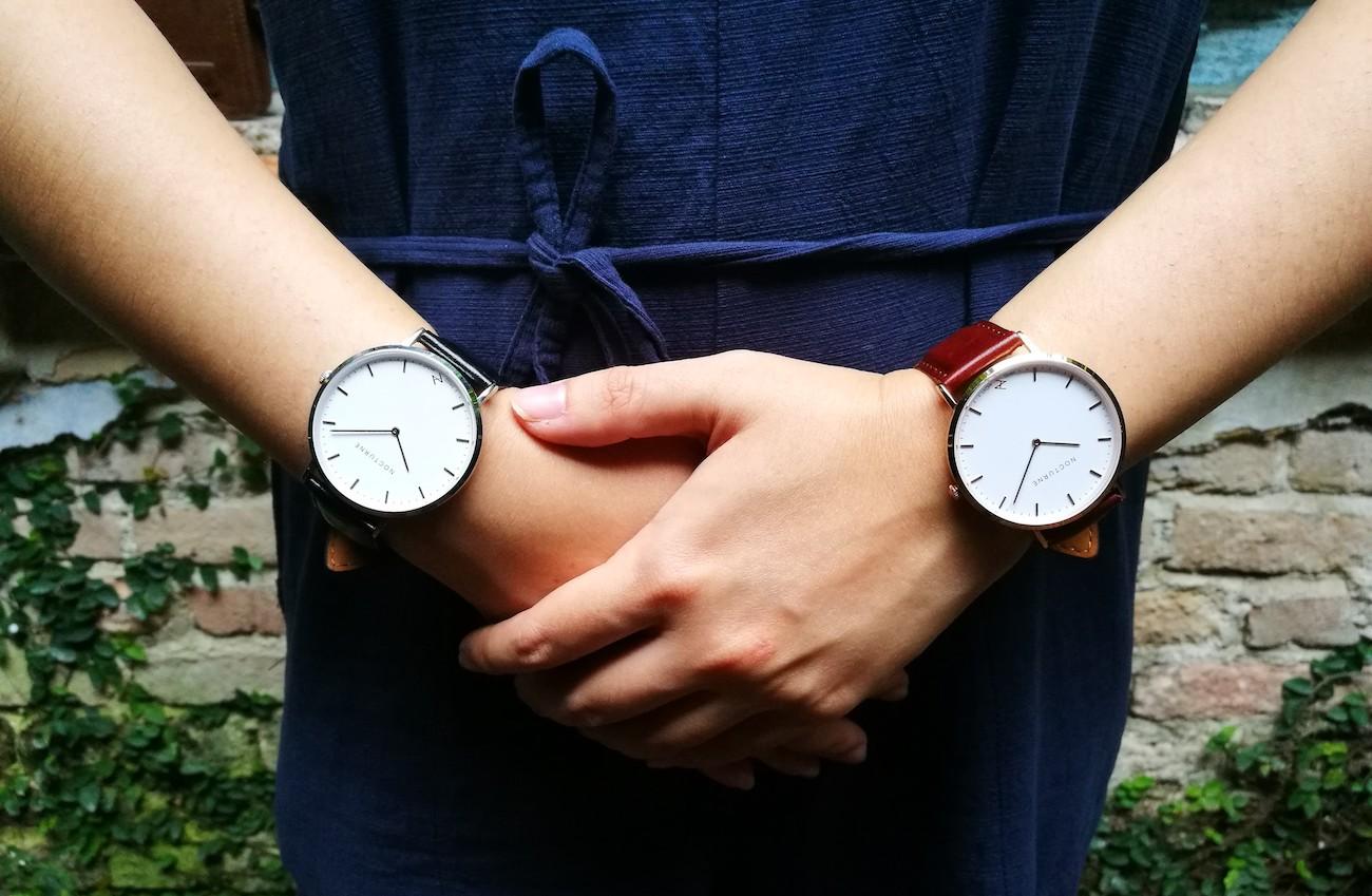 Nocturne Chopin 40 Series Contemporary Minimalist Watch