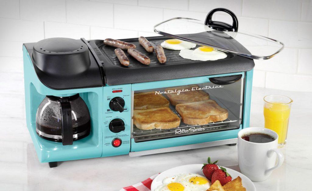 Nostalgia Retro Breakfast Station