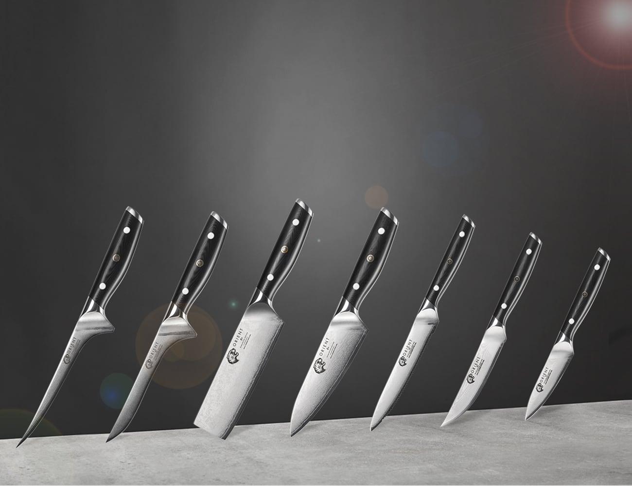 Orient Damascus Series Chef Knife Set