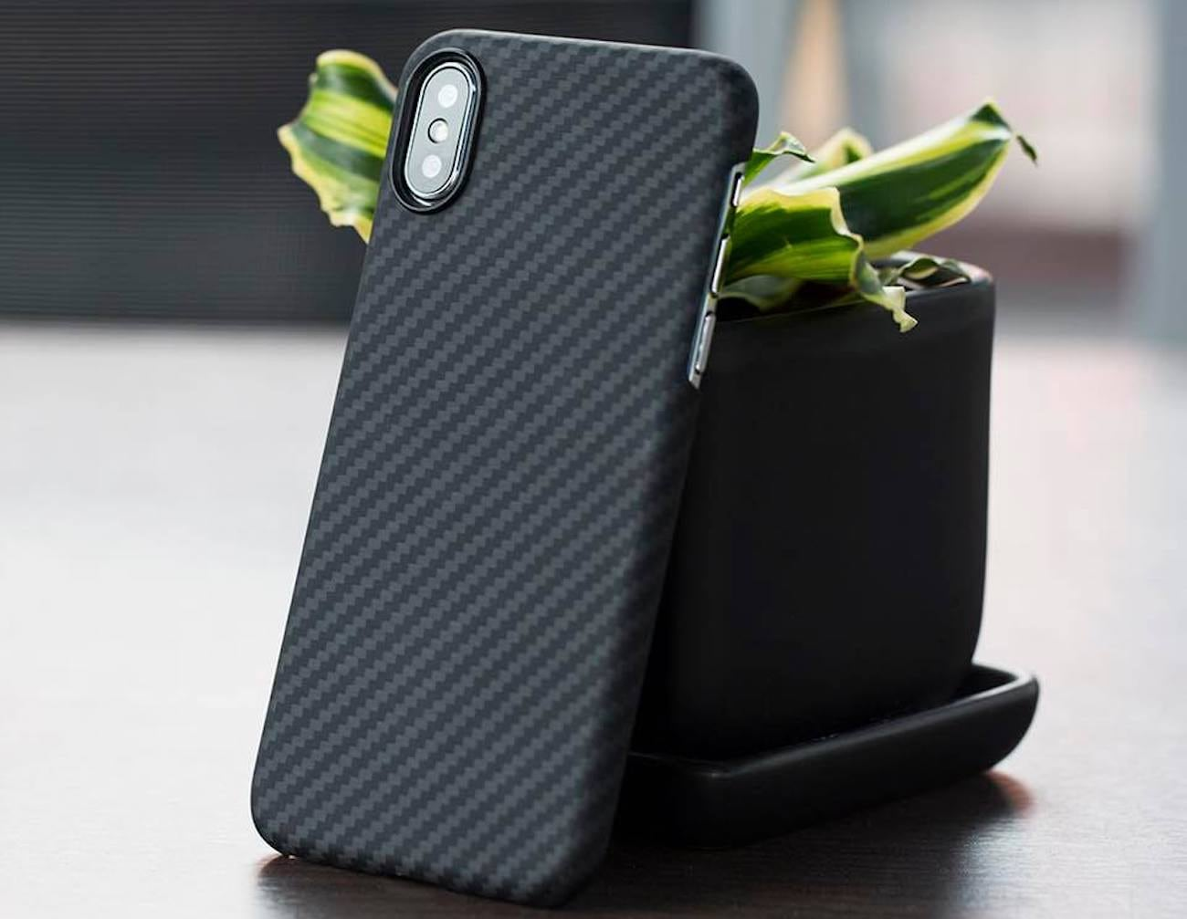 PITAKA+MagCase+IPhone+X+Aramid+Fiber+Case