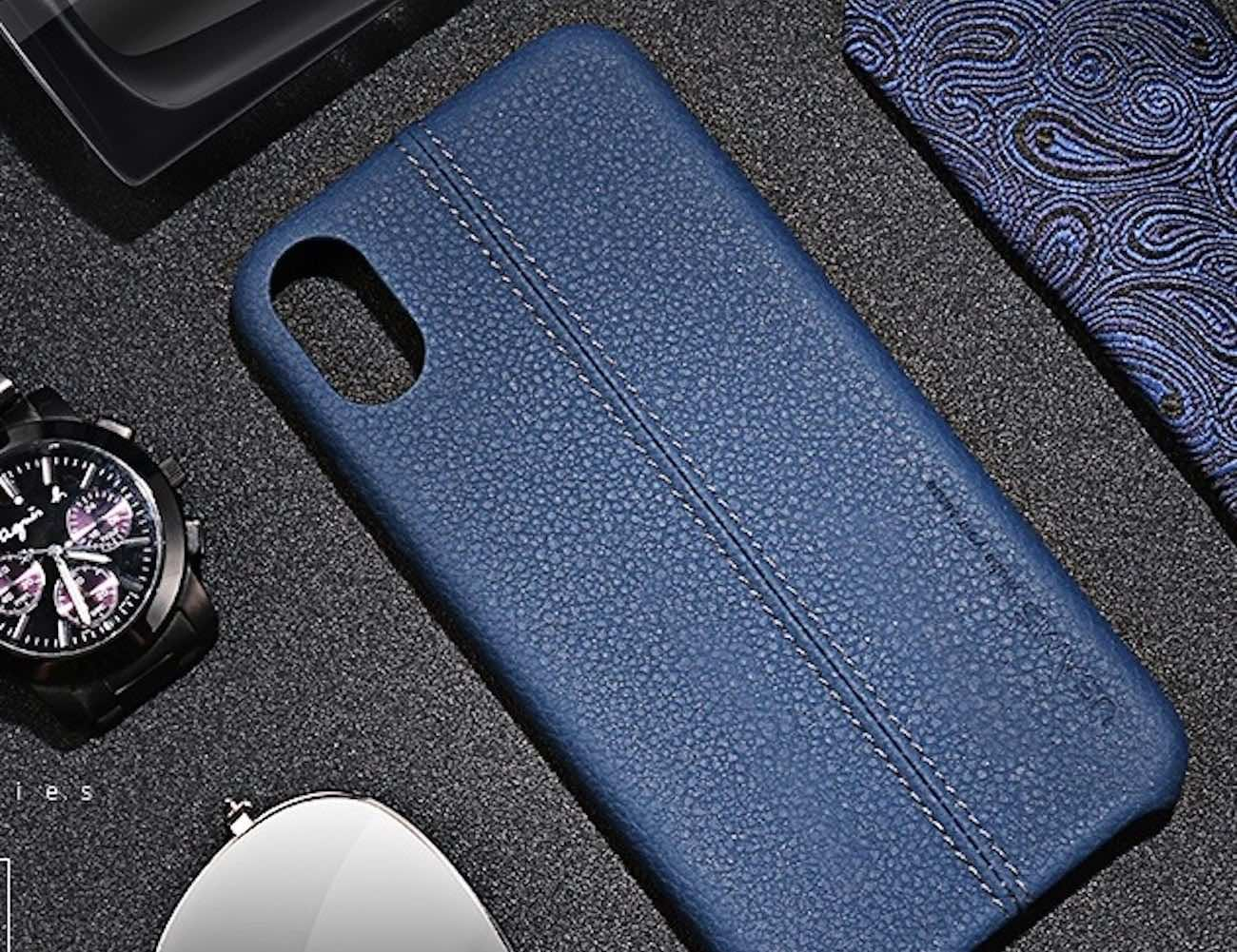 PU Leather iPhone X Case