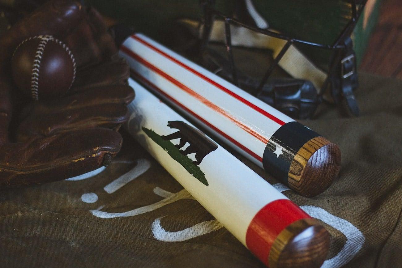 Pillbox Bat Co. Painted Baseball Bats