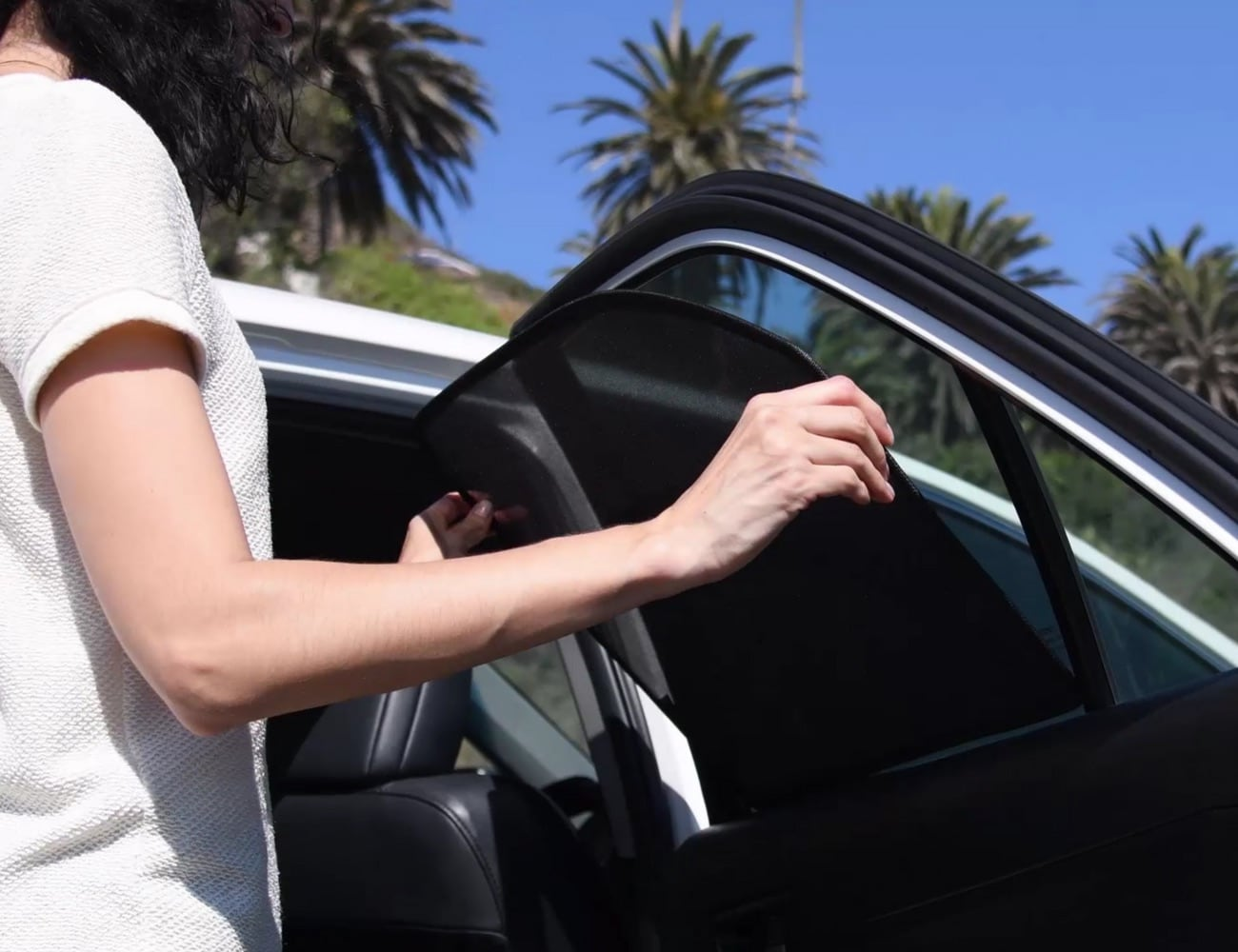 QuikSnap Sunshades Are the Easy Way to Keep Your Car Cool
