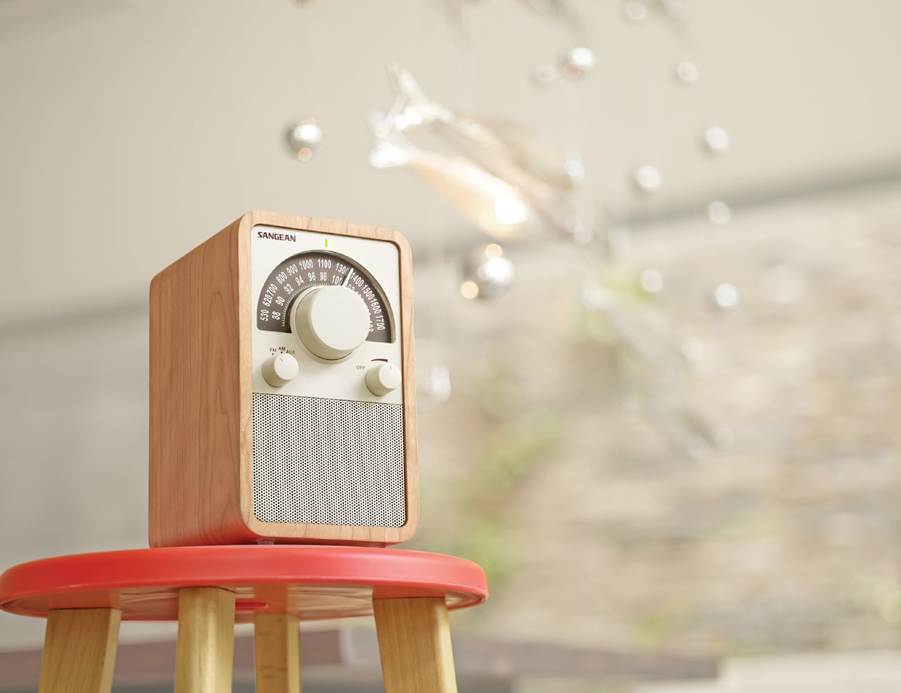 Sangean+Table+Top+Wooden+Radio