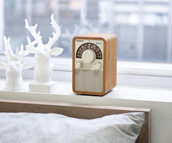 Sangean Table Top Wooden Radio