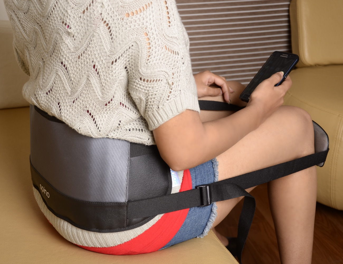 Spino Wearable Lower Back Support