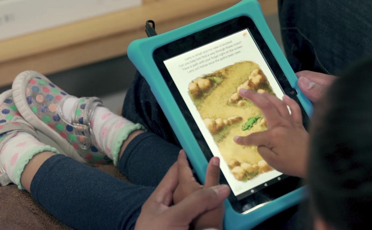 Squaggle Kids Educational Tablet