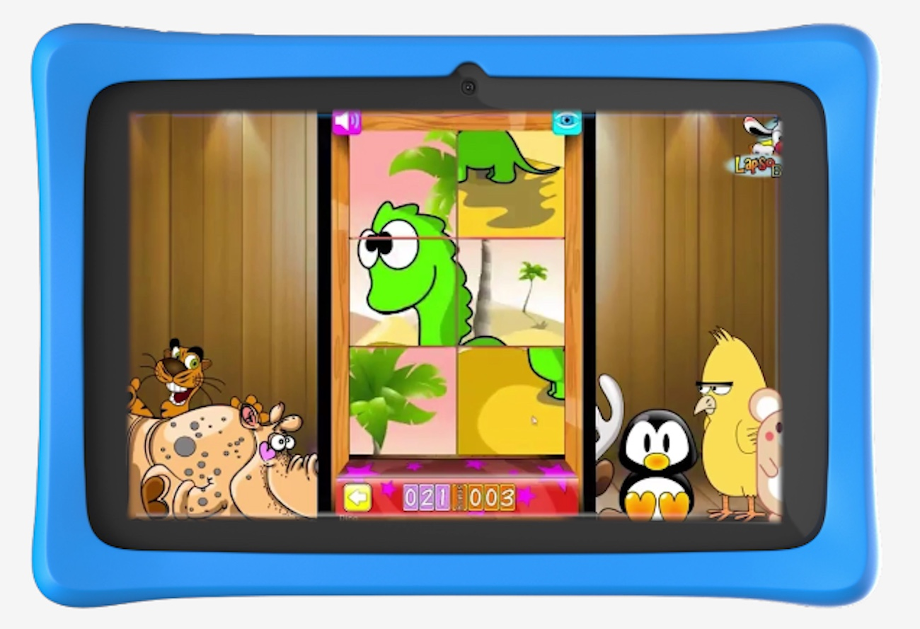 Squaggle Kids Educational Tablet