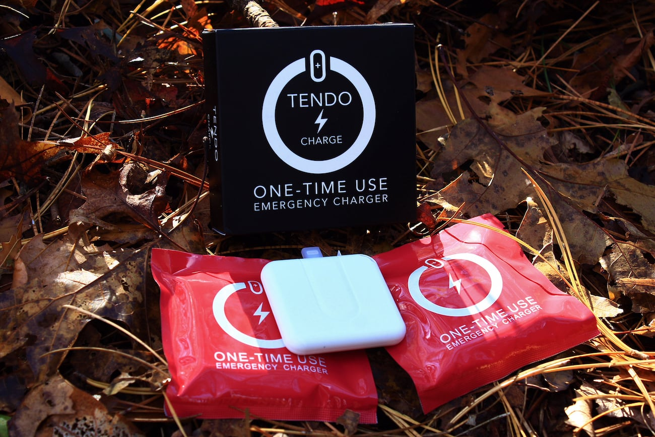TENDO CHARGE Disposable Emergency Charger
