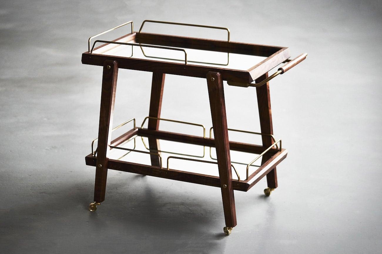 The Bachelor Retro Bar Cart