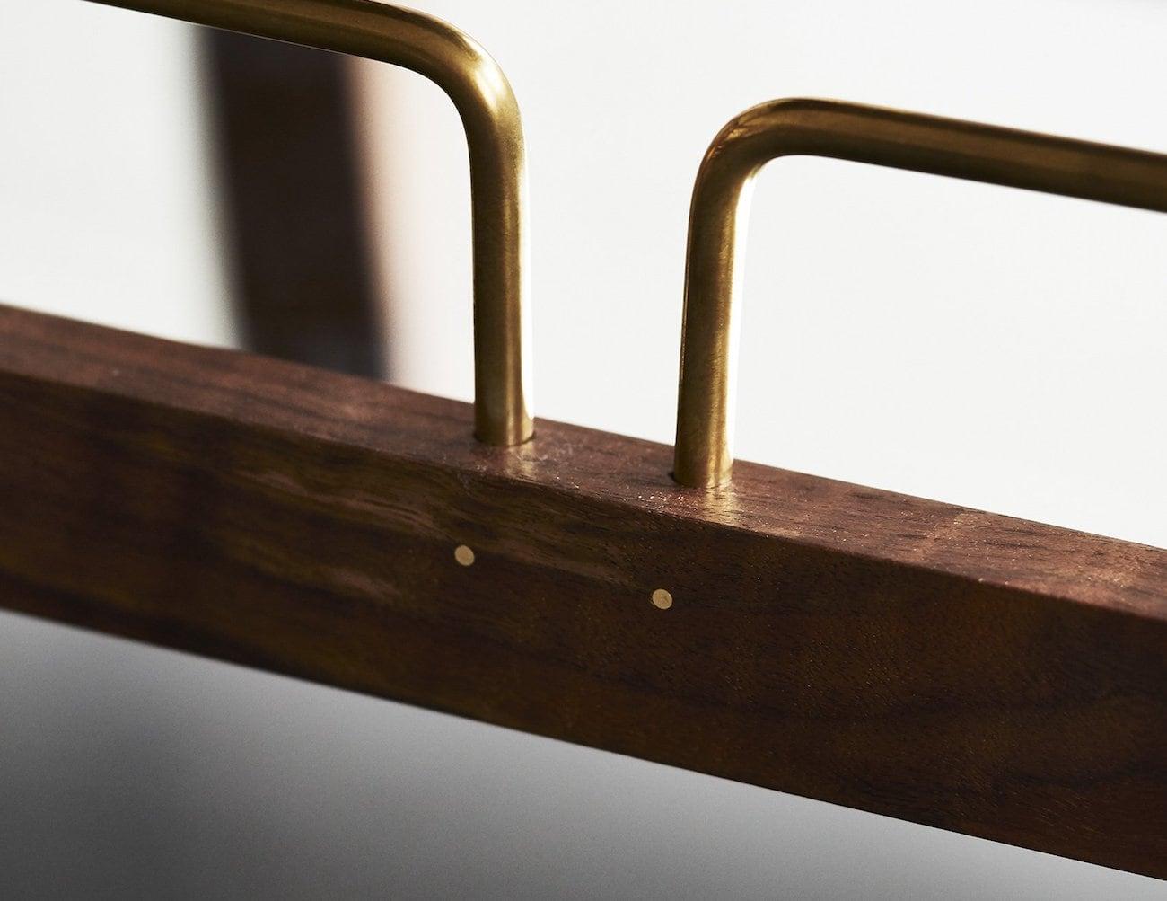 retro bar cart modern the bachelor retro bar cart gadget flow