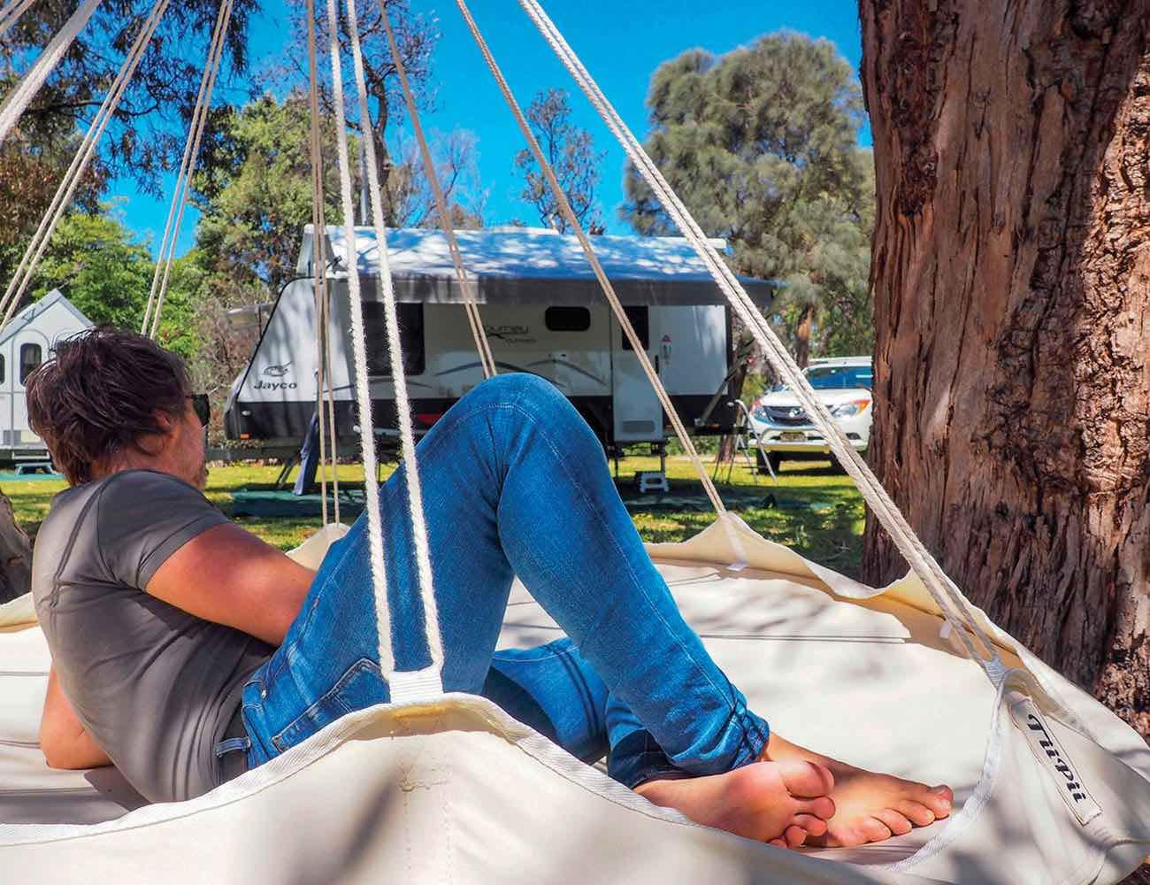 TiiPii Bed Luxury Transportable Hammock