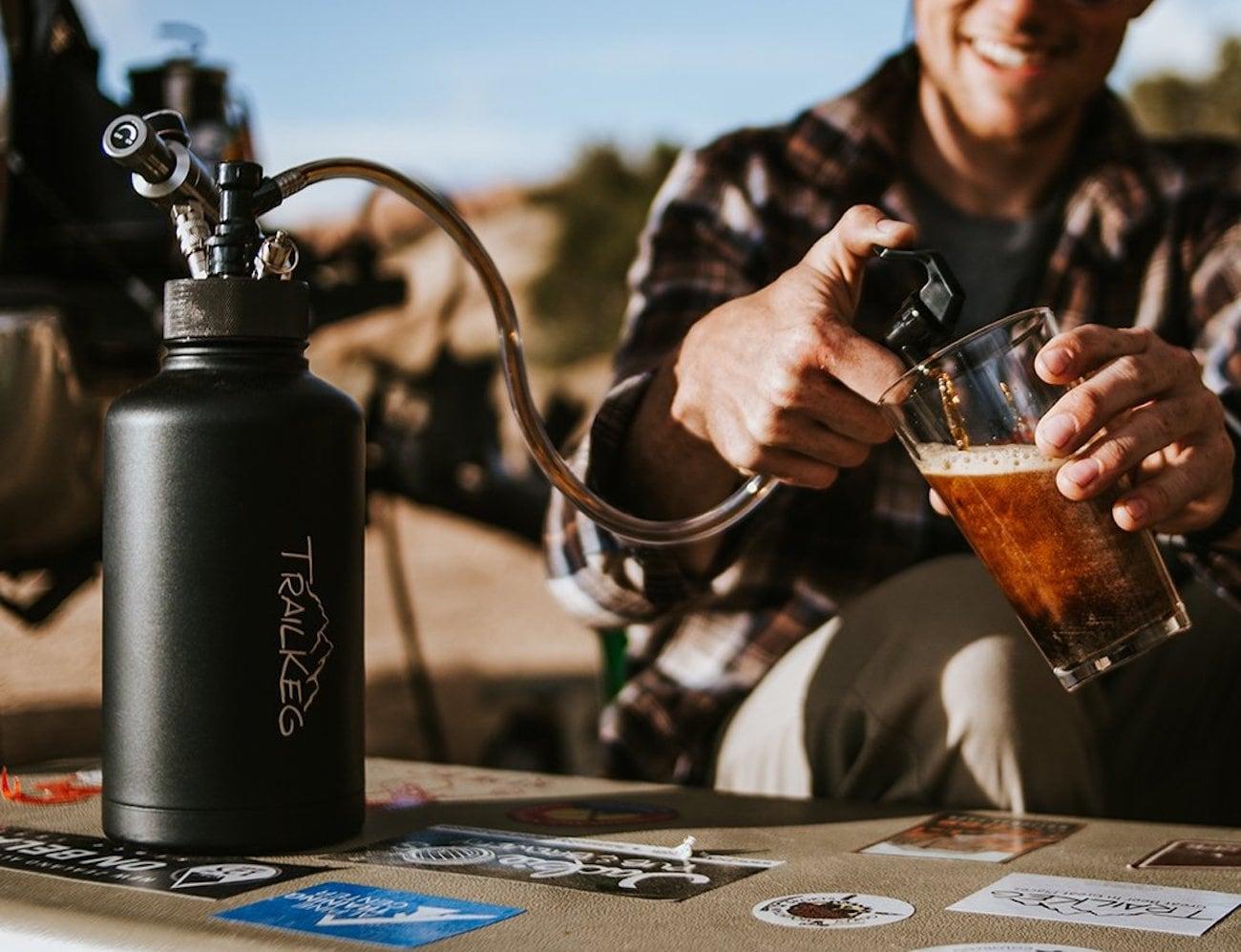 TrailKeg Portable Pressurized Growler Keg