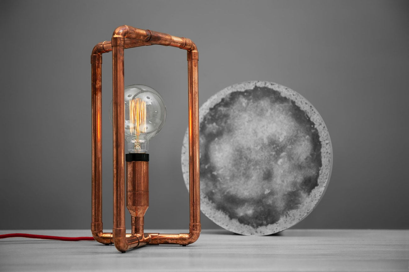 Tribo Copper Möbius Strip Lamp