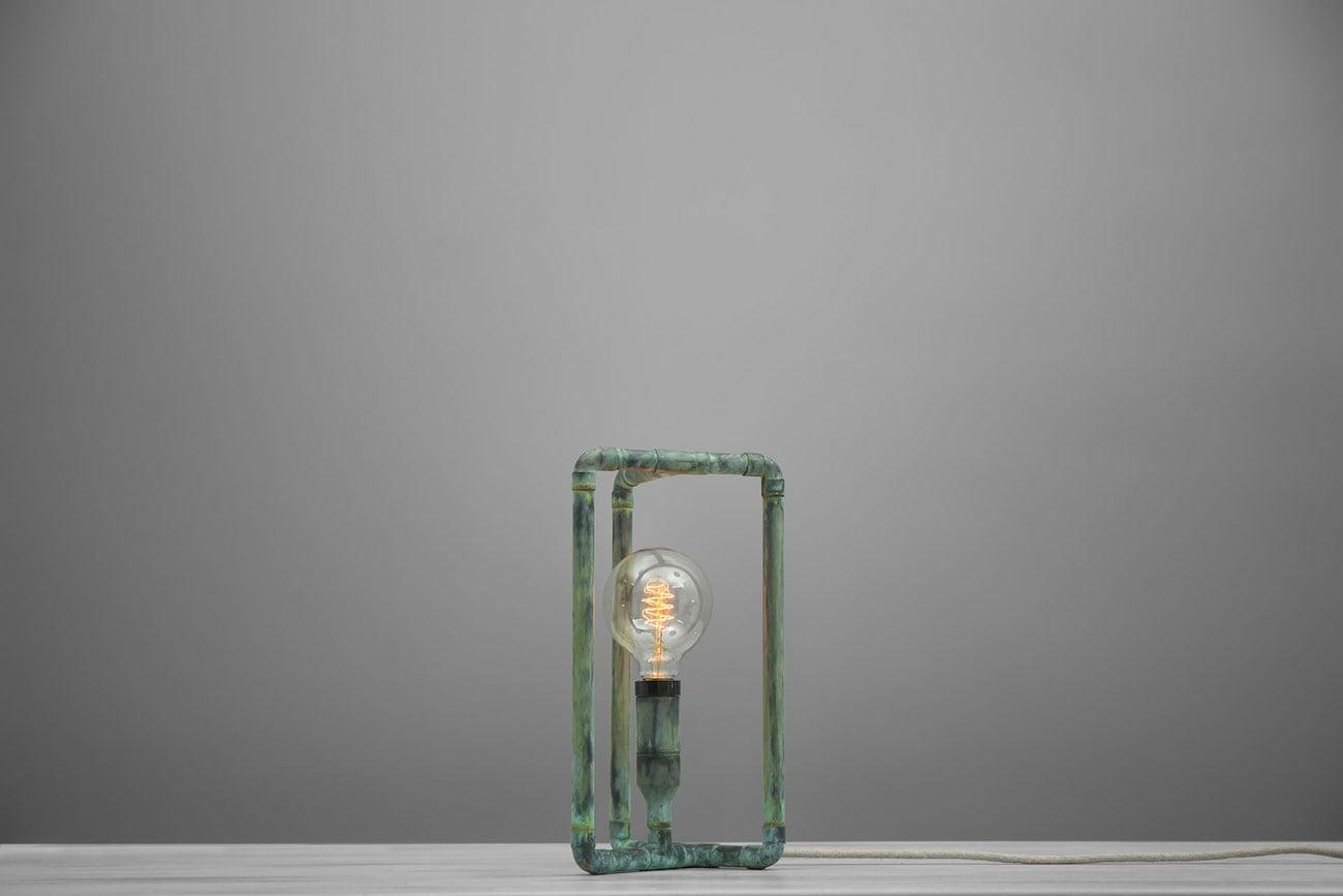 Tribo Copper Möbius Strip Lamp