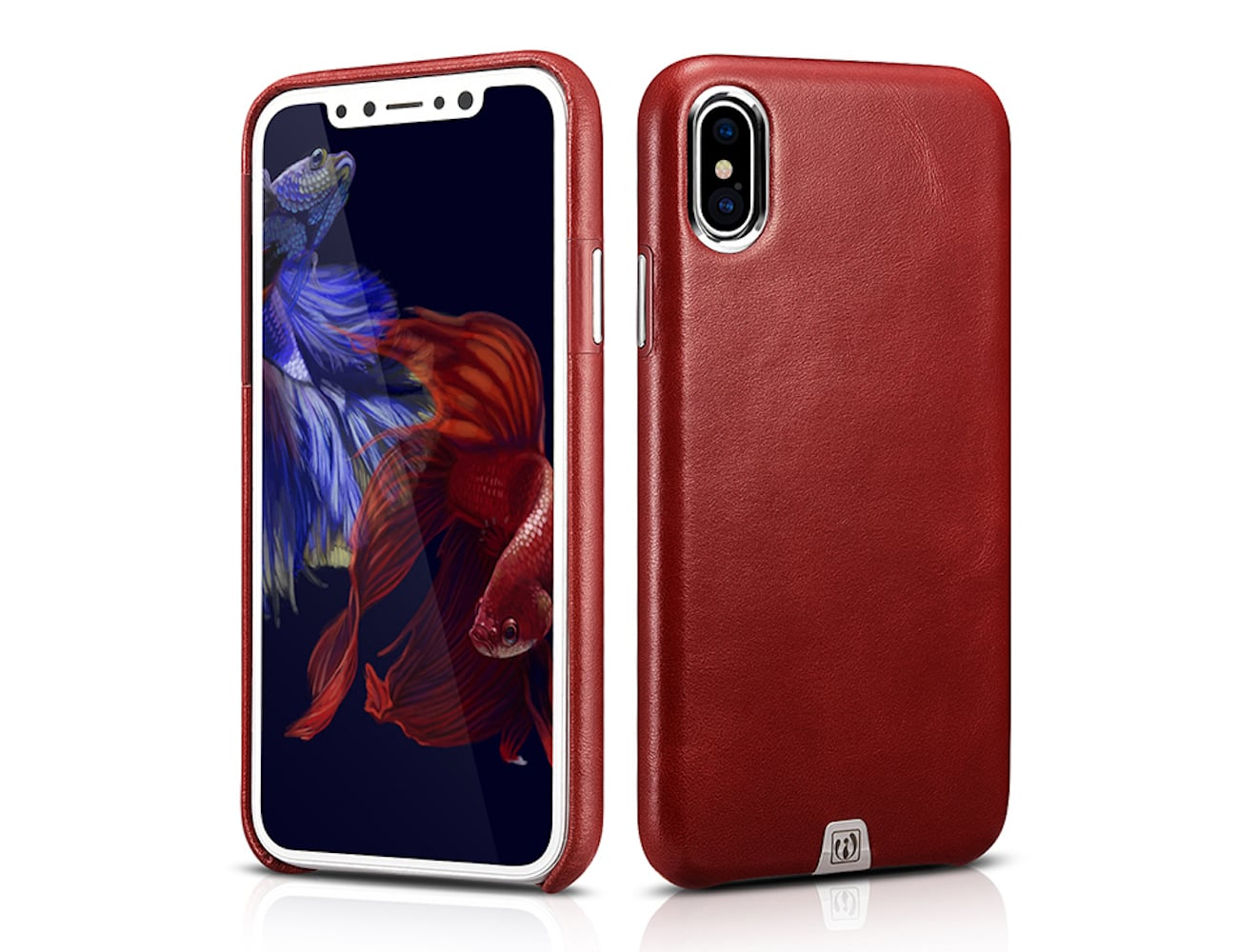 Ultra-Thin Genuine Leather iPhone X Case