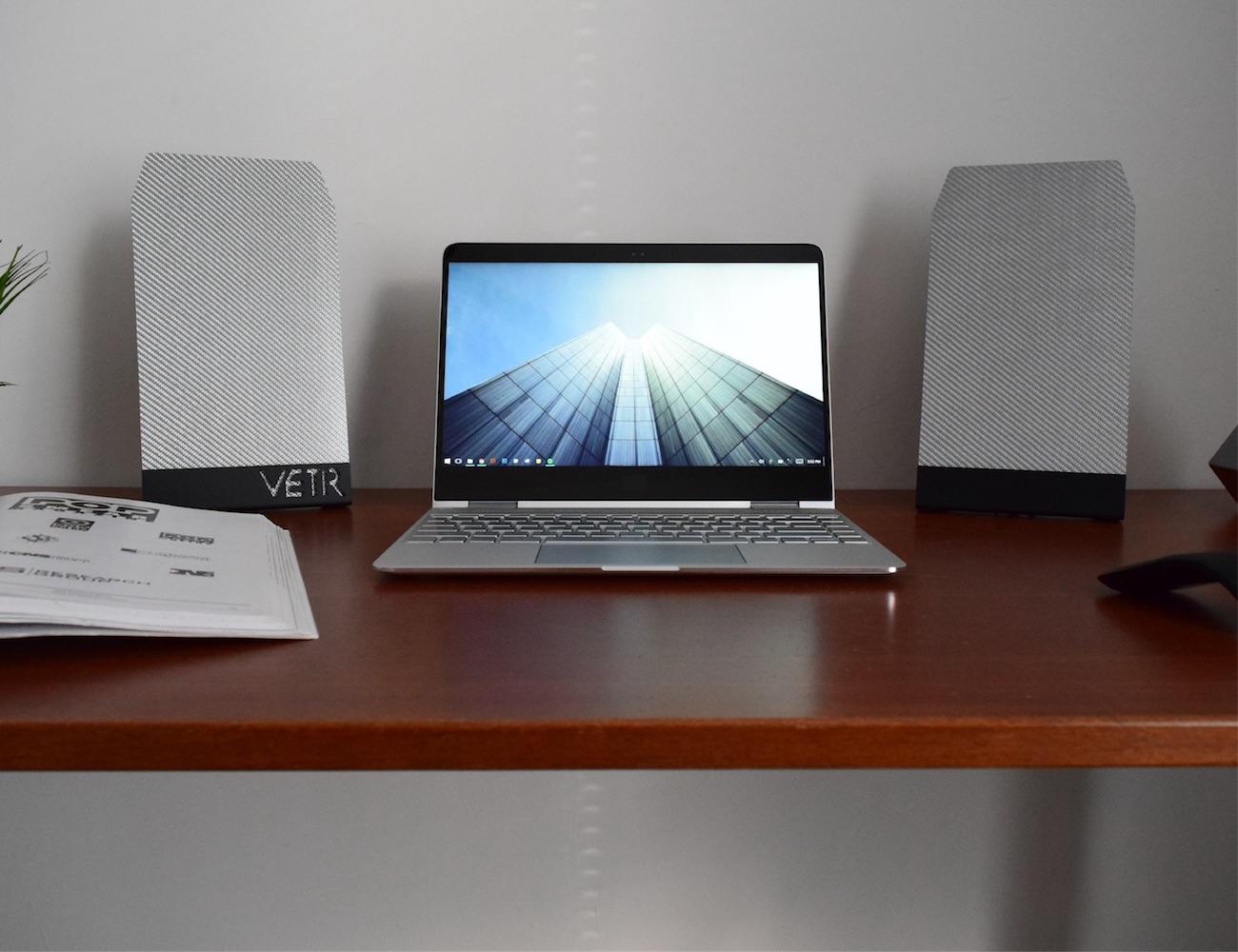 VETR Audio PANL1 Slim Carbon Fiber Speakers