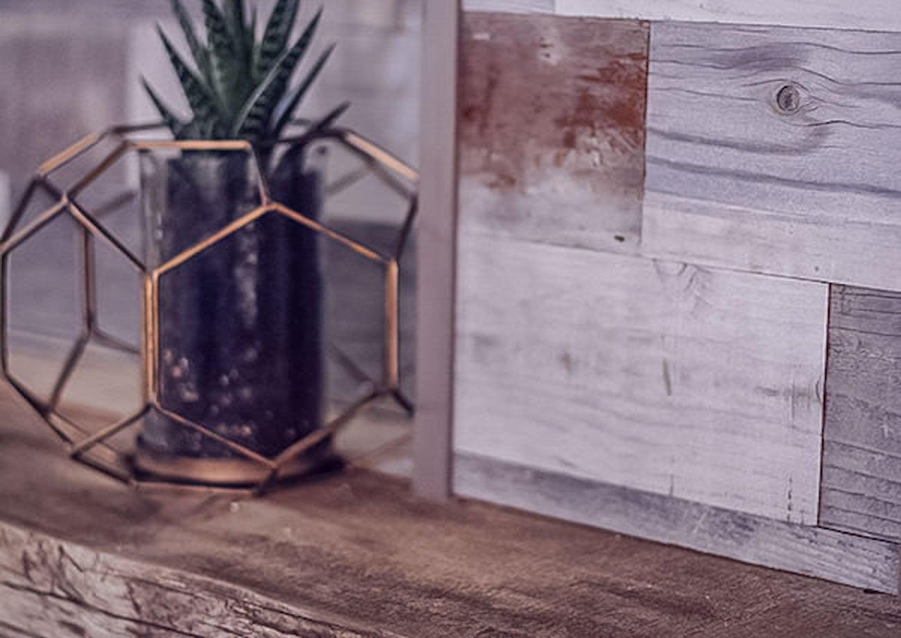 Viridian Wood Adhesive Wood Paneling