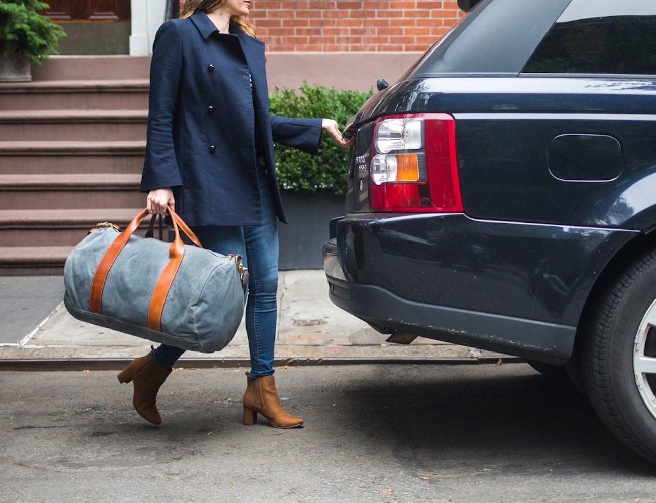Voyager Waxed Weekender Bag